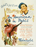 Films By Vincente Minnelli Posters - An American In Paris, Leslie Caron Poster by Everett