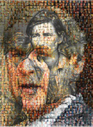 George Bush Mixed Media - An American President by Tammera Malicki-Wong