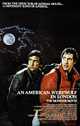1980s Framed Prints - An American Werewolf In London, Griffin Framed Print by Everett