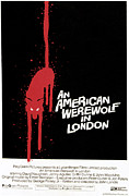 1980s Framed Prints - An American Werewolf In London, Poster Framed Print by Everett