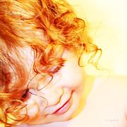 An Angels Smile Print by Kerri Ligatich