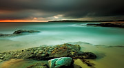 Maroubra Art - An Aqua Dawn by Mark Lucey