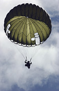 Paratrooper Photo Prints - An Armed Forces Of The Philippines Print by Stocktrek Images