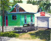 Coca-cola Sign Paintings - an Artists House by Linda Holmes