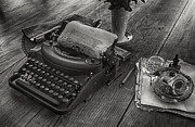 Typewriter Photos - An Authors Tools by Lynn Palmer