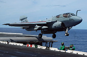 Prowler Art - An Ea-6b Prowler Launches by Stocktrek Images