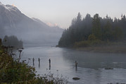 Four People Photos - An Early Morning Mist Rises by Michael S. Quinton