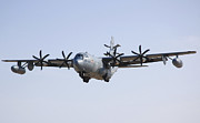 Landing Framed Prints - An Ec-130j Commando Solo Aircraft Framed Print by Stocktrek Images