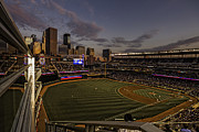 Ballpark Prints - An Evening at Target Field Print by Tom Gort