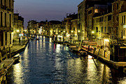 Shops Photos - An Evening in Venice by Michelle Sheppard