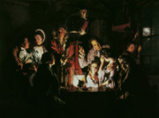 An Experiment On A Bird In The Air Pump Print by Joseph Wright of Derby