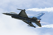 Update Prints - An F-16a Mide-life Update Print by Ramon Van Opdorp