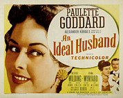 Posth Posters - An Ideal Husband, Paulette Goddard Poster by Everett
