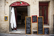 Montpellier Prints - An Italian Restaurant In The Old Part Print by Taylor S. Kennedy