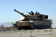 An M1a1 Main Battle Tank Print by Stocktrek Images