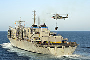 Operation Enduring Freedom Posters - An Mh-60s Knighthawk Lifts Cargo Poster by Stocktrek Images