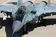 Aa Photos - An Mig-29 Aircraft With One Aa-10 Alamo by Anton Balakchiev