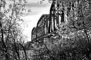 Montana Digital Art - An Old Relic - Kinsey Bridge Series by Tina Storle