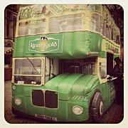 Manc Prints - An Olde Inflatable Irish Bus Print by Conor Duffy