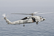 Search And Rescue Photos - An Sh-60f Seahawk Gets Airborne by Giovanni Colla