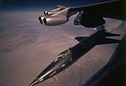 X-15 Prints - An X-15 Rocket Plane Drops Free Print by Dean Conger