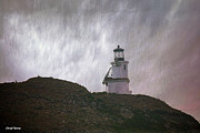 San Miguel Photos - Anacapa Island Lighthouse by Cheryl Young