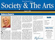 Anahi Decanio Featured In Boca Raton News Print by Anahi DeCanio