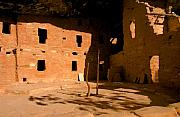 Anasazi Framed Prints - Anasazi Kiva Framed Print by David Lee Thompson