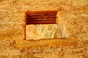 Blanding Prints - Anasazi Window - Tower Ruins - Comb Ridge Print by Gary Whitton
