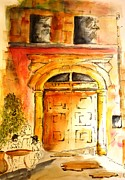 Door Paintings - Ancient Appeal by Therese Alcorn