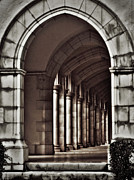 Roman Columns Prints - Ancient Archway Print by Paul Topp