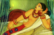 Bed Originals - Ancient Ceylon Royal Lady by Shakila Malavige