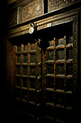 Door Photos - Ancient Door by Mike Reid