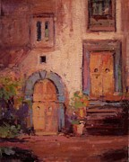 Ancient Doors Prints - Ancient doors Print by R W Goetting