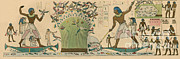 Papyrus Photos - Ancient Egypt, Bird Hunting by Science Source