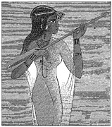 Lute Prints - Ancient Egypt: Music Print by Granger