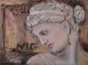 Classical Reliefs - Ancient Greek Girl by Evangelos Koumbis