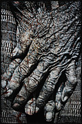 Finger Nails Posters - Ancient Hands Poster by Skip Nall
