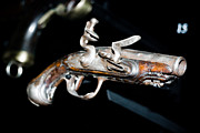 Yurix Prints - Ancient Pistol Print by Yurix Sardinelly
