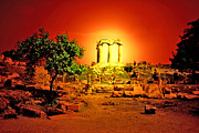 Athens Prints - Ancient Ruins Print by Madeline Ellis