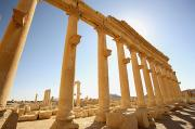 Palmyra Photos - Ancient Ruins Of Palmyra by Axiom Photographic