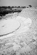 Byzantine Photos - Ancient Site Of Roman Theatre At Salamis Famagusta Turkish Republic Of Northern Cyprus Trnc by Joe Fox