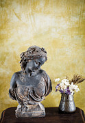 Greek Icon Posters - Ancient statue  Poster by Chavalit Kamolthamanon
