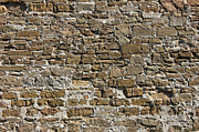 Architectural Abstract Posters - Ancient Stone Wall Background Poster by Kiril Stanchev
