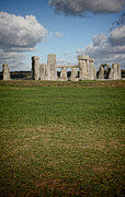 Wiltshire Framed Prints - Ancient Stones Framed Print by Heather Applegate