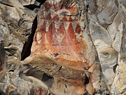 Rock Art Digital Art - Ancient Stories by Terril Heilman
