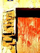 Michael Metal Prints - Ancient Wall 10 by Michael FItzpatrick Metal Print by Olden Mexico
