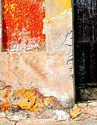 Michael Metal Prints - Ancient Wall 4 by Michael FItzpatrick Metal Print by Olden Mexico