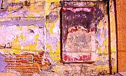 Michael Metal Prints - Ancient Wall 7 by Michael Fitzpatrick Metal Print by Olden Mexico