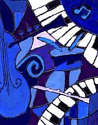 Blues Art - and All that Jazz 3  by Wayne Potrafka